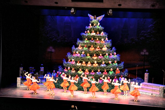 Singing Christmas Tree, Charlotte, NC - Local Love: The 60th Annual Singing Christmas Tree - Lisa M. Frame
