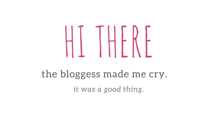 The Bloggess Made Me Cry