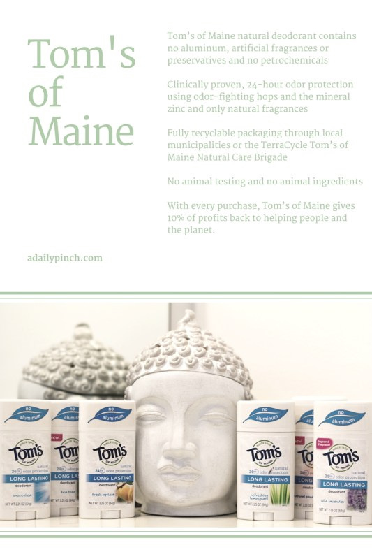 Tom's of Maine long-lasting deodorant