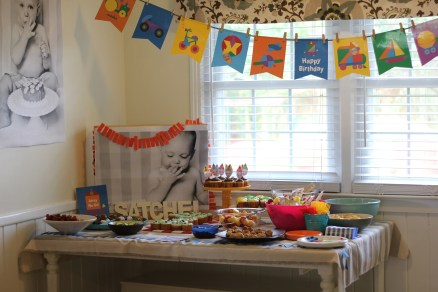 Colorful First Birthday Party