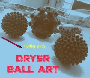 Dryer ball Art