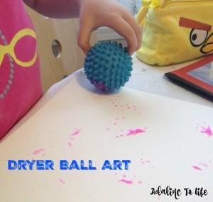 dryer art craft