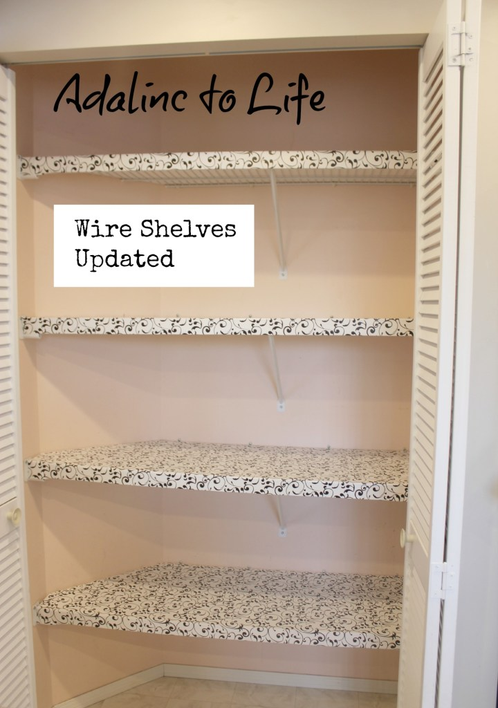 Wire Shelves update pic