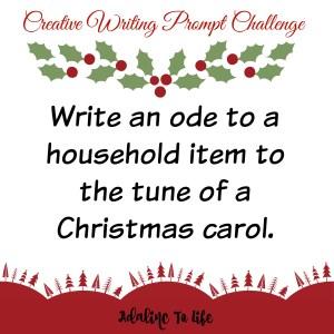 creative writing prompt challenge 2