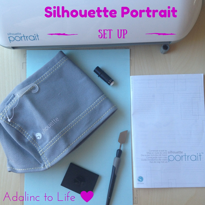 New Silhouette Portrait Set Up & My First Project