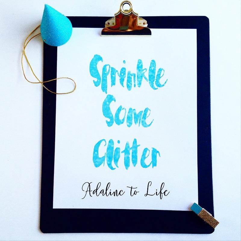 Blue Sprinkles 2
