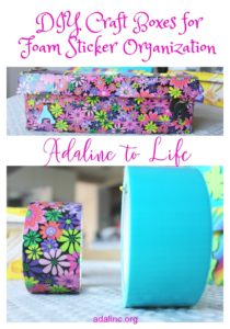 DIY Craft Storage Boxes Pinterest