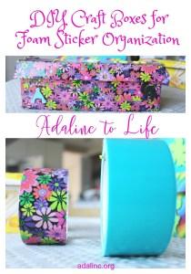 DIY Craft Storage Boxes Pinterest