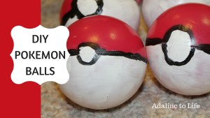 DIY Pokemon Balls