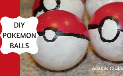 DIY Pokemon Balls to Create Your Own Pokemon Go Game