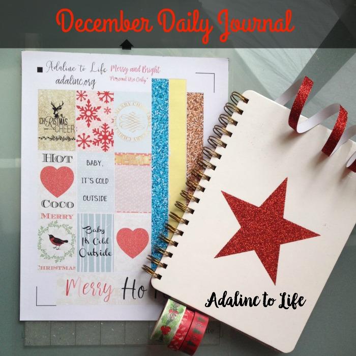 December Daily Journal