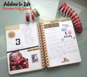 December Daily Journal