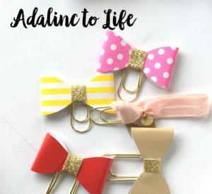 diy planner paper clips