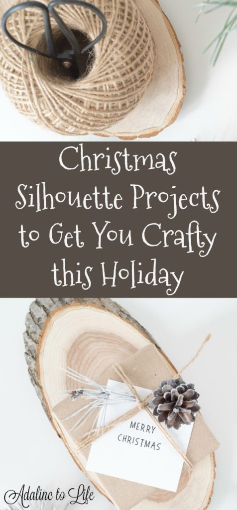 Christmas Silhouette Projects to Get Crafty this holiday