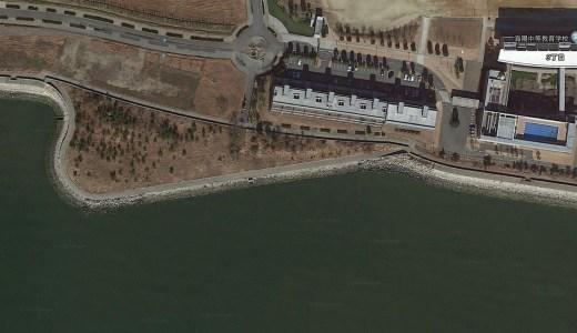 蒲郡市 海陽中等教育学校裏は知られていない釣り場。人が入っていないからスレてない。