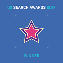 US Search Awards 17 Winner