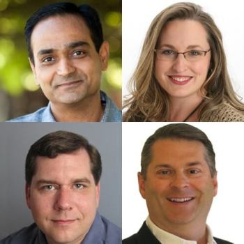 "Avinash Kaushik,Jennifer Cario, Brad Geddes, Ray Rike on the webinar ""The Current Status & Future of Digital Marketing"""