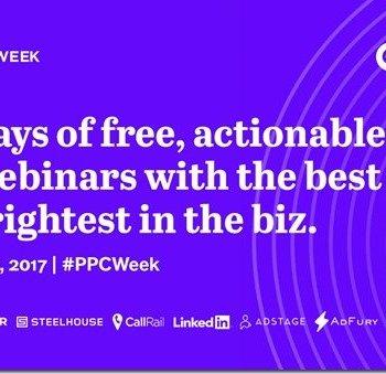 PPC Week announcement