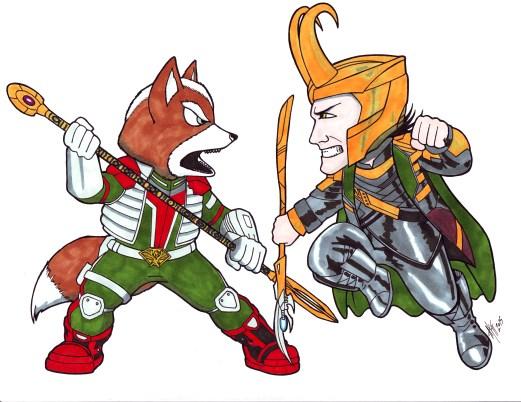 Fox vs Loki