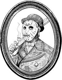 Fancy Jason framed
