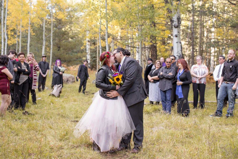 Alternative wedding in Flagstaff
