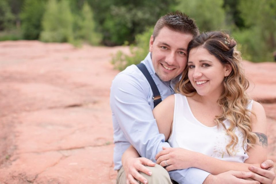 Red Rock Crossing Engagement Photos