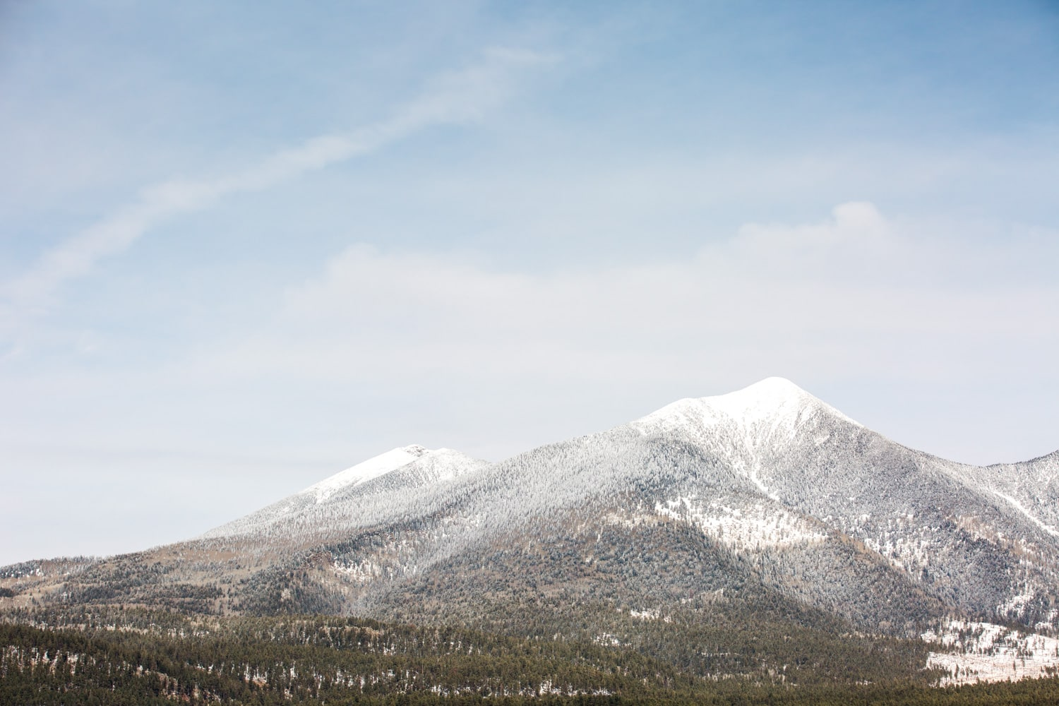 Snow Covered Flagstaff