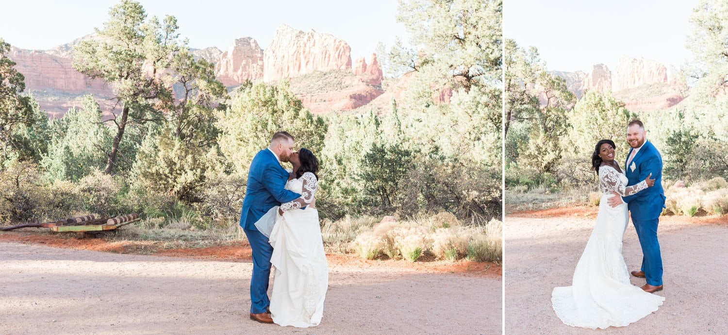 Intimate wedding at Sedona Heritage Museum