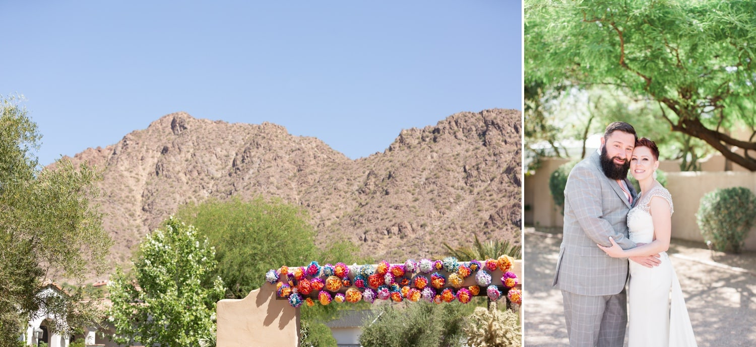 Camelback Mountain Wedding