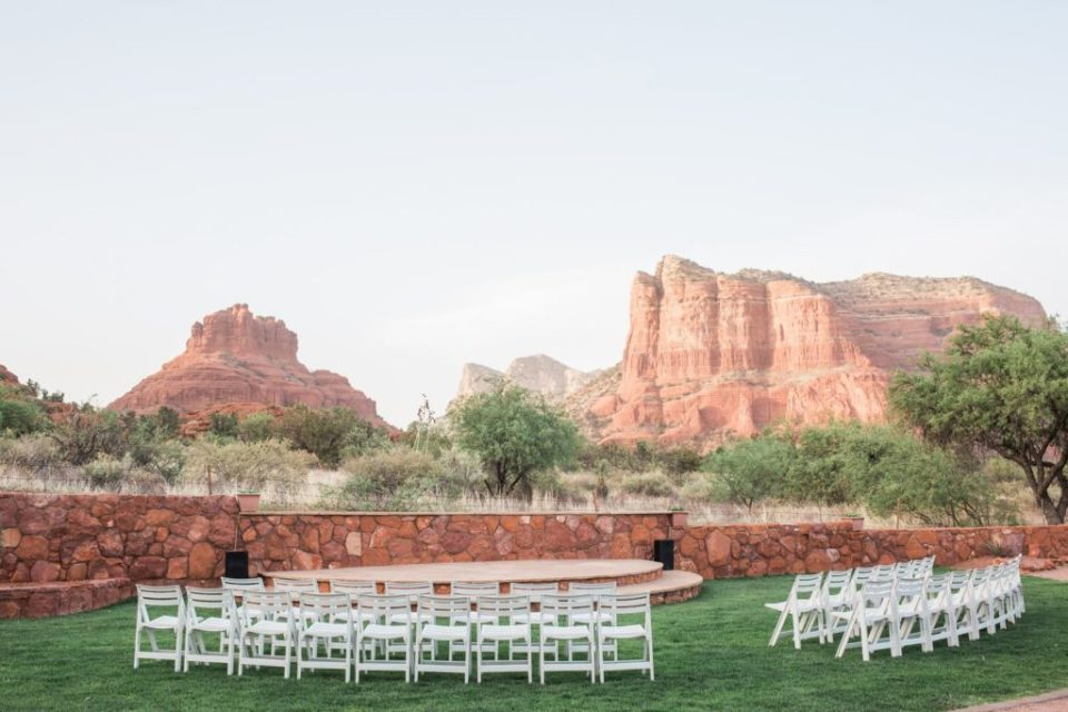 Red Agave Resort an outdoor wedding venue in Sedona