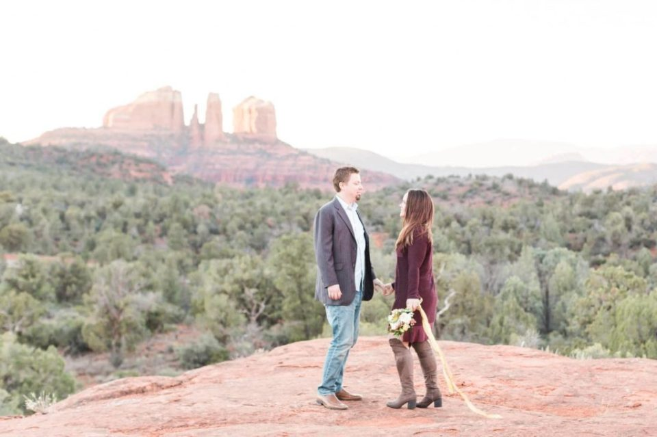 Sedona Red Rock Engagement Photos