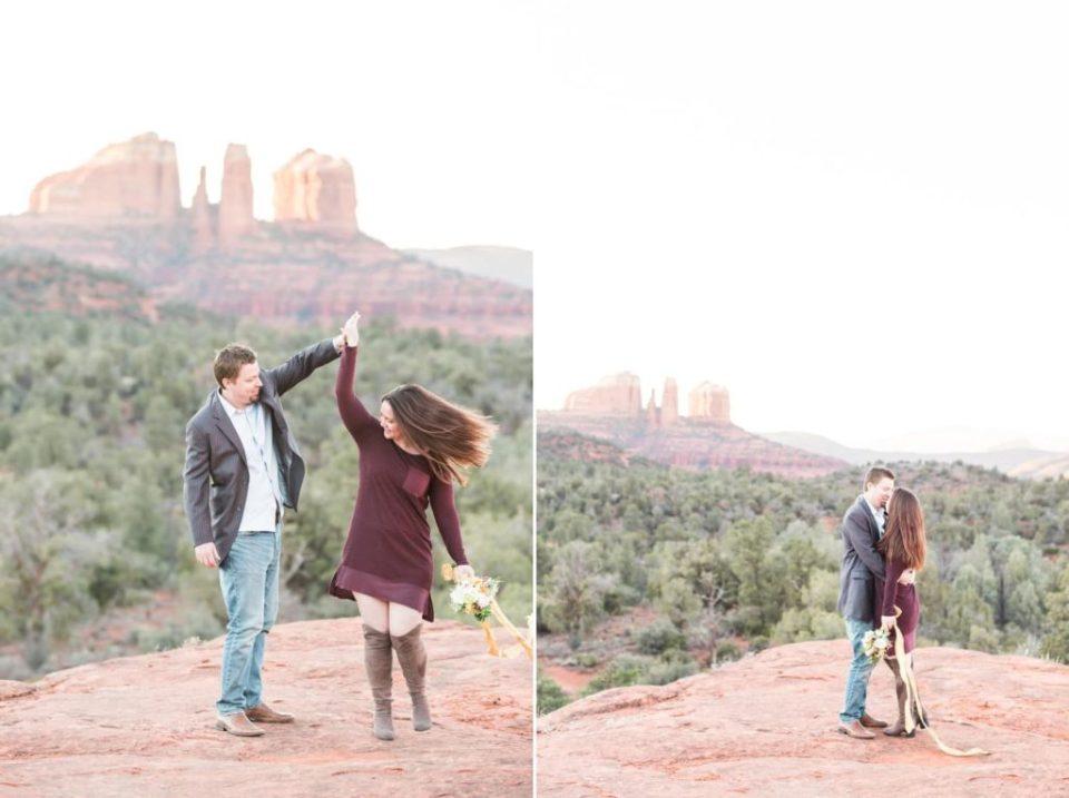Northern Arizona Engagement Photos