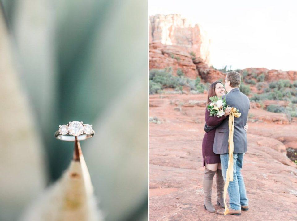 Cactus Engagement Ring