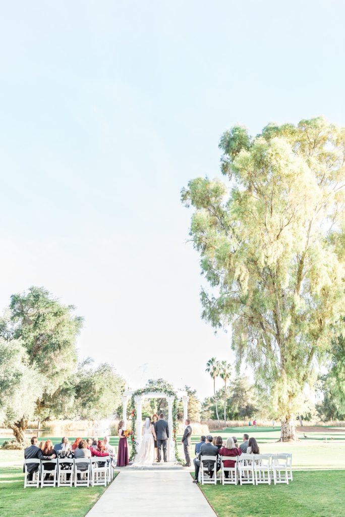 Scottsdale Golf Course Wedding