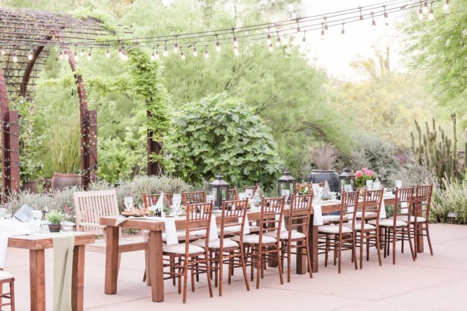 Atlasta Catering at the Desert Botanical Gardens