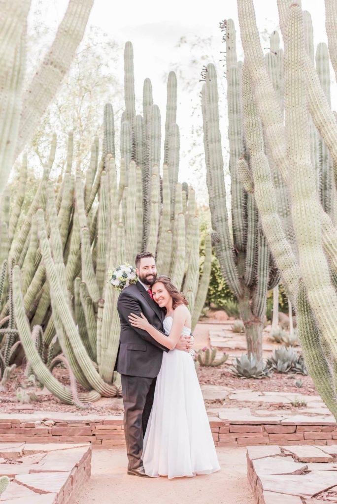 Intimate Wedding at the Desert Botanical Gardens
