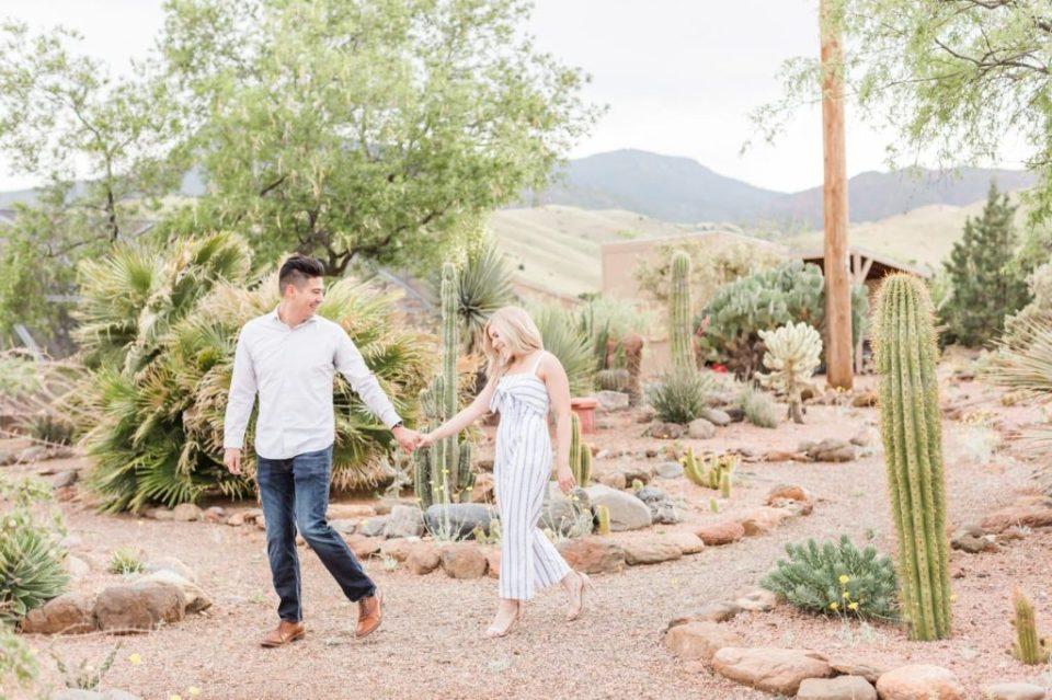 Desert engagement pics