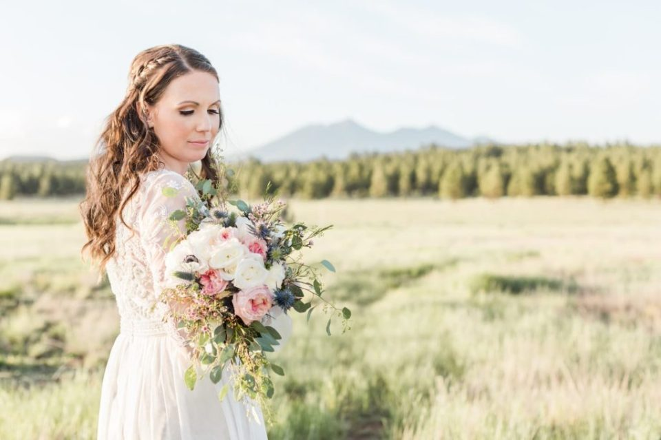 Flagstaff Bridal Photos
