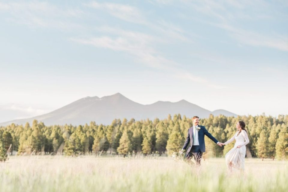 Mount Humphrey's wedding photos