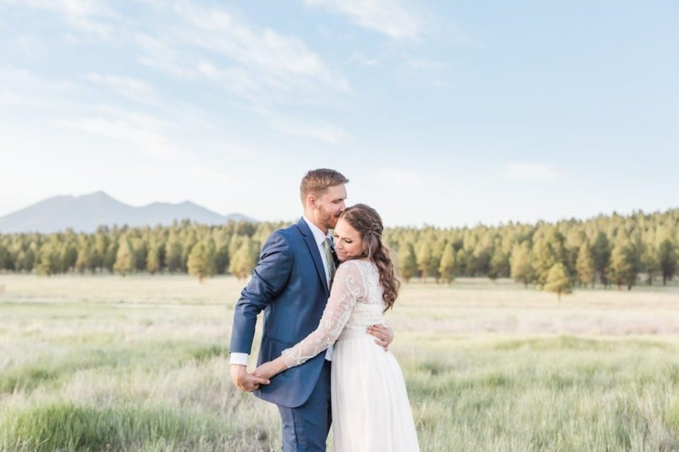 A Flagstaff wedding in the woods