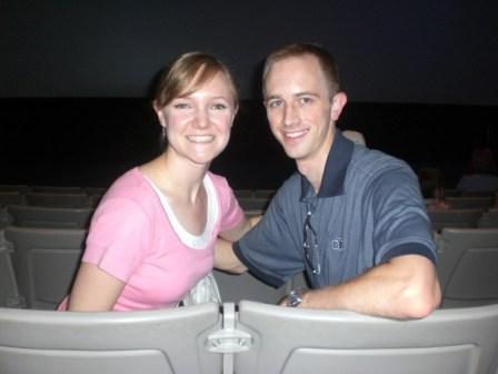 Adam & Sarah at Space Center