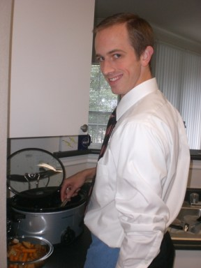 HandsomeHusbandAndCrockPotPotRoast