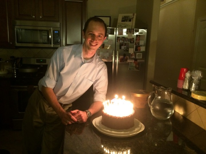 Adam's birthday -- the big 30!