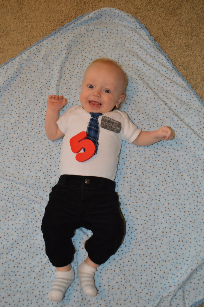 James is 5 months old!