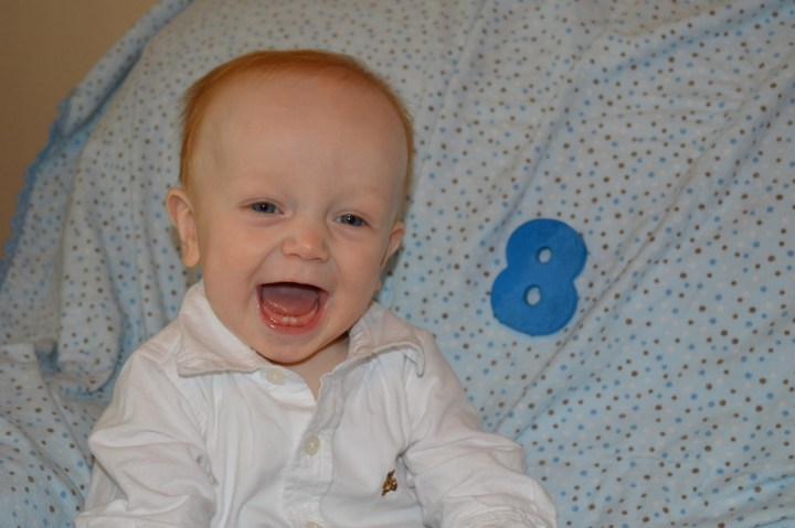 Happy 8-months James!