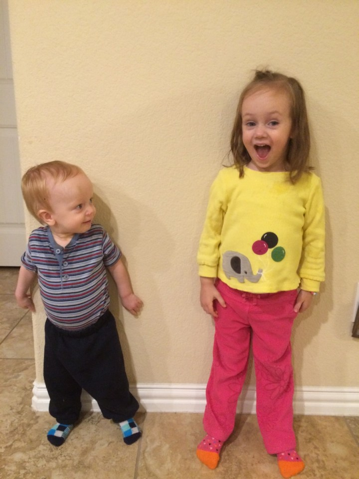 James wants to do whatever Eliza does. He thinks she is awesome.