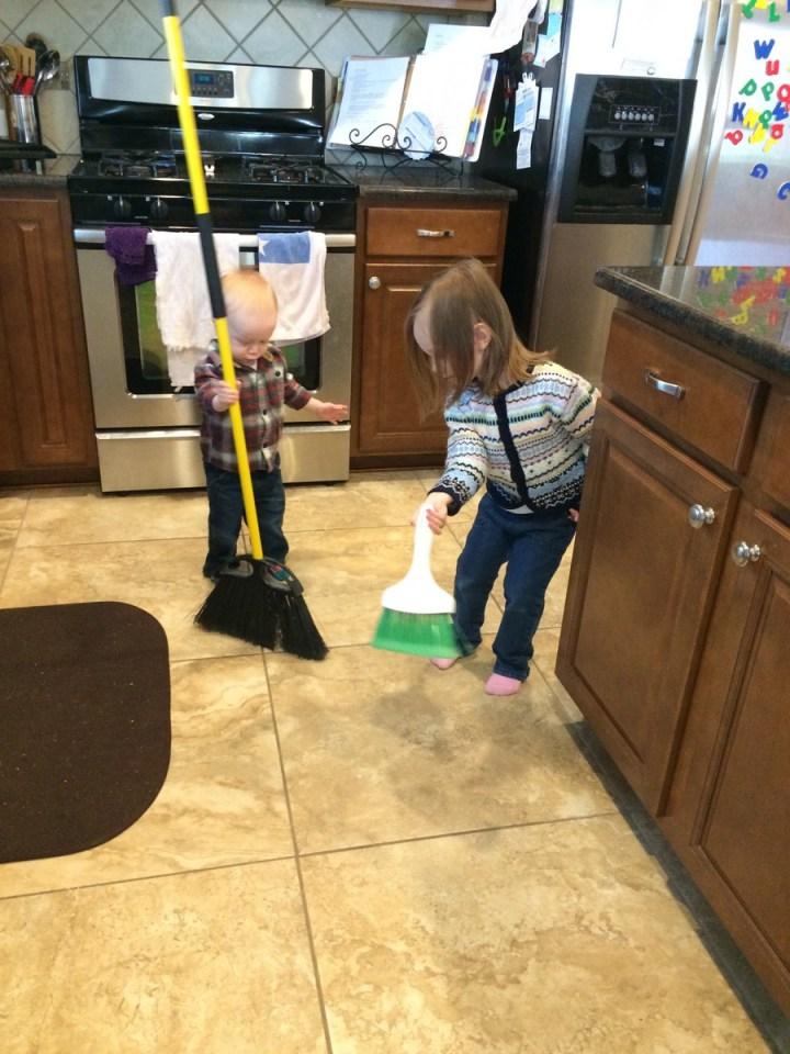 Saturday chores