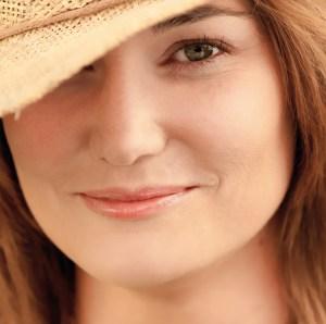 My colleague Anne in her favorite summer hat