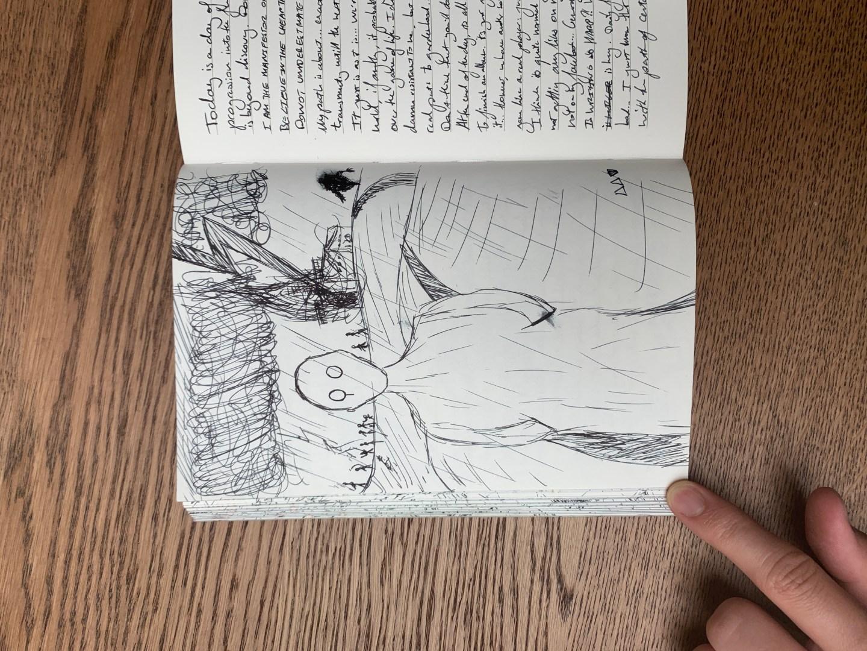 Tilting at Windmills [Doodle]