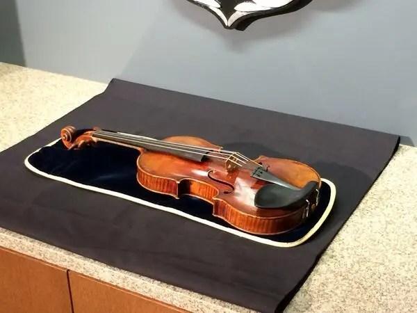 Stolen Stradivarius